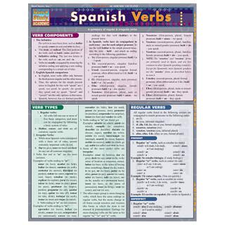 Barcharts Spanish Verbs