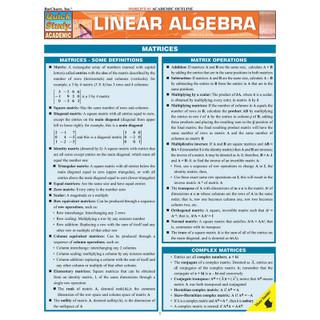 Barchart Linear Algebra