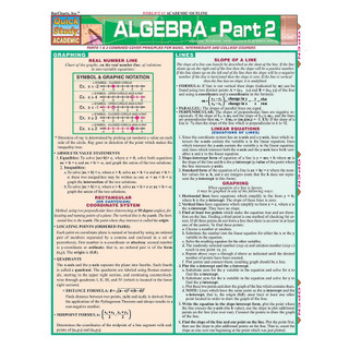 Barcharts Algebra - Part 2